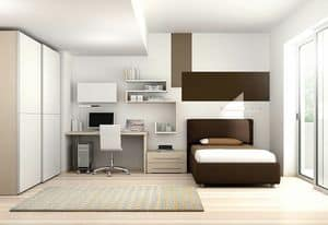 Children bedroom KC 114, Children bedroom made with LEB ecological panels