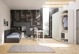 Children bedroom KC 204, Modern bedroom for children, simple and original