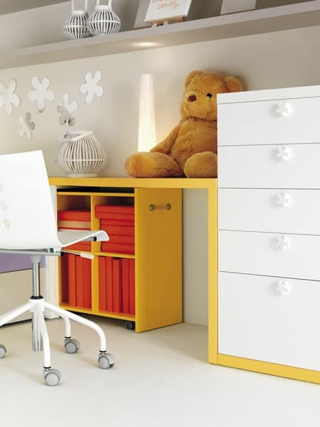 Modular system for boys functional and environmentally for Modular bedroom furniture systems