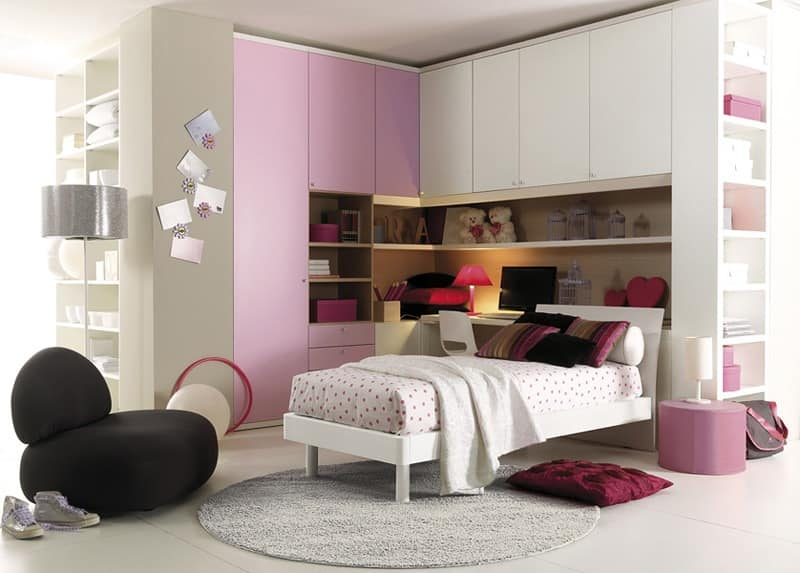 Comp. 203, Bedroom, confort and space optimization