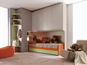 Comp. 204, Modular room for children, measures customizable