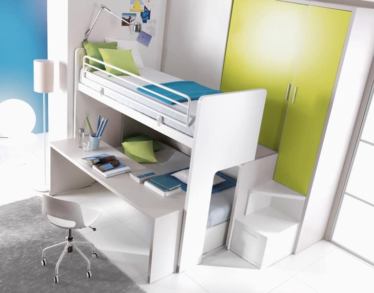 Brilliant Kids Space-Saving Bedroom Furniture 767 x 600 · 95 kB · jpeg