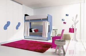 Comp. 311, Solutions for boys room, various finishes