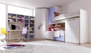 Picture of Comp. 401, furniture for children and youngster bedrooms