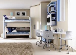 Picture of Comp. 906, furniture solutions for kids' bedroom