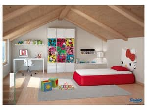 Picture of Hello Kitty Active, customized children bedrooms