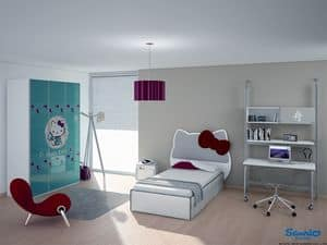 Picture of Hello Kitty City, modern kids' bedroom