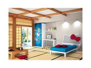 Picture of Hello Kitty Oriental, compact kids' bedroom
