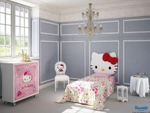 Picture of Hello Kitty Sophisticated, bedroom