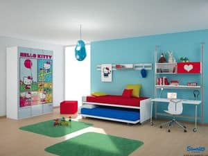 Picture of Hello Kitty Urban, children bed