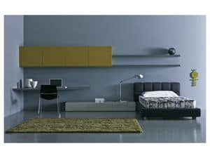Picture of Kid bedroom Mia - Liberi 01, lively bedrooms