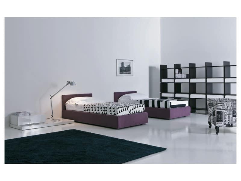 Kid bedroom Mia - Liberi 03, Modern kids' bedrooms Dorm