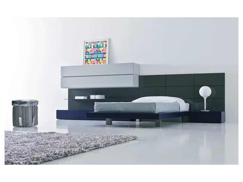 Kid bedroom Mia - People 02, Lively bedrooms Bed zone