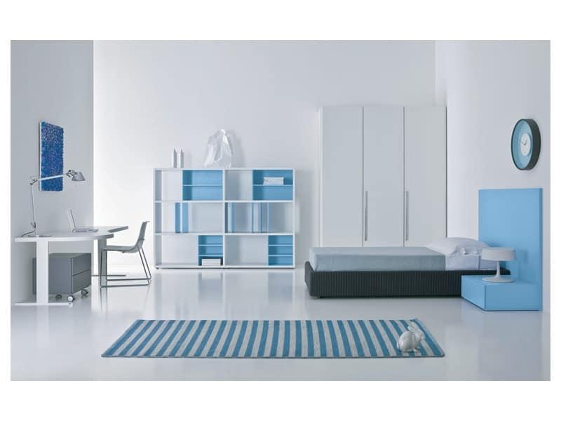 Kid bedroom Mia - Pisolo 02, Children beds Children bedroom