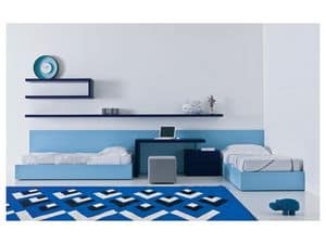 Picture of Kid bedroom Mia - Transformable and bridge 02, furniture for children bedroom