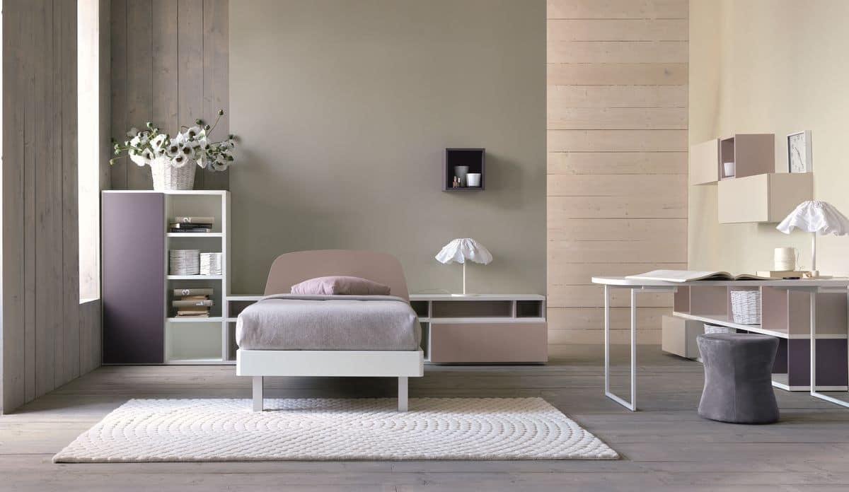 Comp. New 148, Modern bedroom for girls