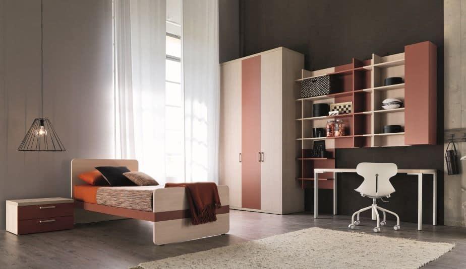 Comp. New 150, Modern bedroom furniture for boys