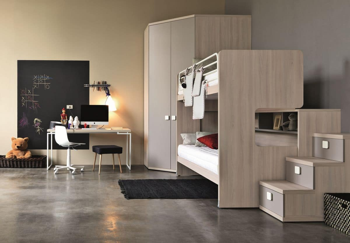 Comp. New 152, Bedroom furniture for boys and childrens