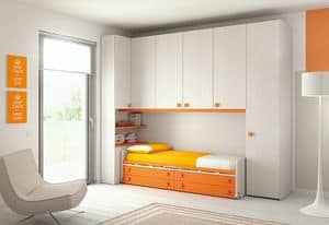 Ponte KP 116, Bedroom with deck, in ecological panels LEB