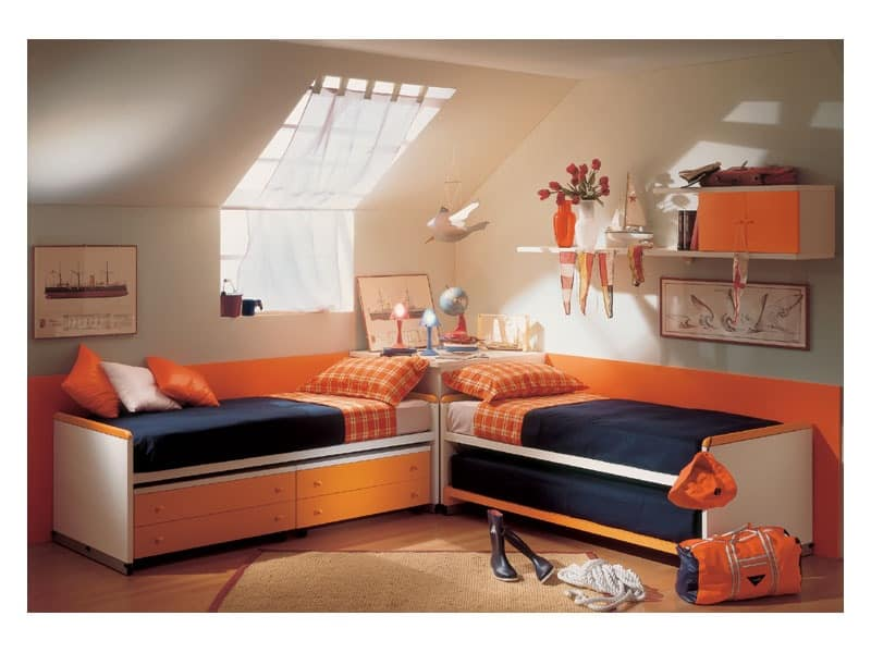 Picture of Quasar 06, compact kids' bedrooms