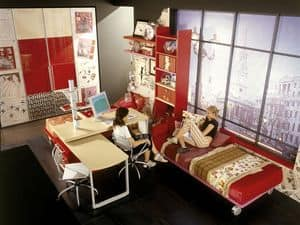 Picture of Yume 03, furniture solution for kids' bedroom