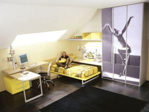 Picture of Yume 08, modern kids' bedroom