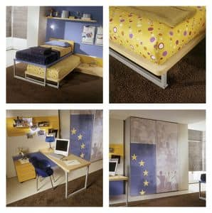 Picture of Yume 12, modern kids' bedrooms