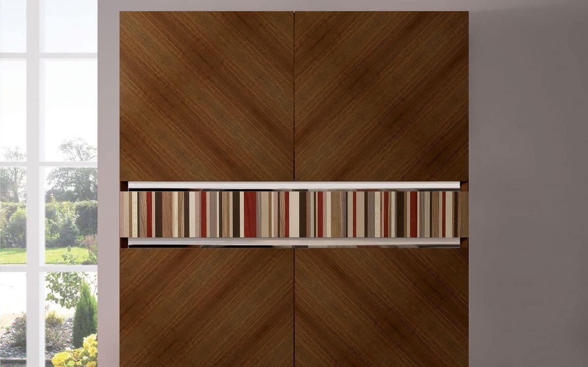 Teak sideboard handmade 2 doors ideal for elegant for Sideboard quadra