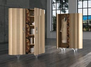 CR43 Mistral, Mobile with natural wood texture, multifunctional