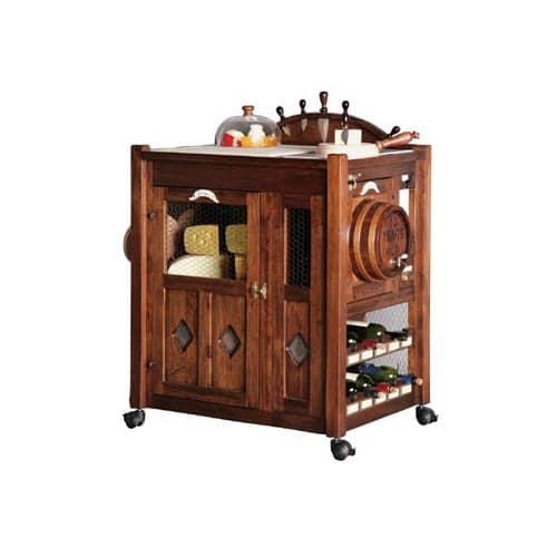 Food trolley for taverns and restaurants idfdesign - Carrello porta liquori ...
