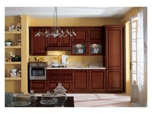 Picture of Agnese 2, kitchen in wood