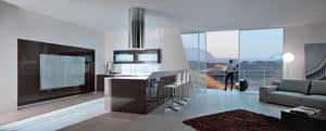 Picture of Ambra, modular kitchen