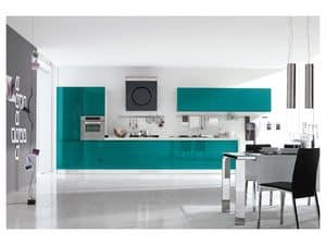 Picture of Bring 5 smeraldo, modular kitchens