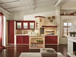 Picture of Certosa 4, traditional style kitchen