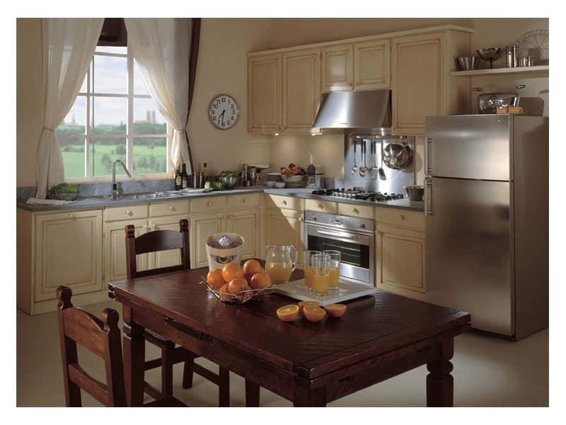 Corner Nostalgia Wooden Kitchens B B Idfdesign
