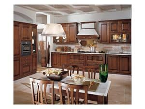 Picture of Focolare 2, elegant kitchen