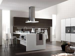 Picture of Life 4, linear kitchens