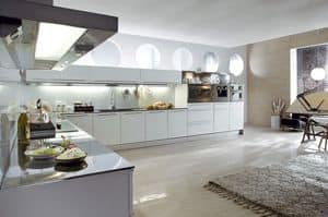 Picture of Vela Aluminium comp.01, designer kitchen