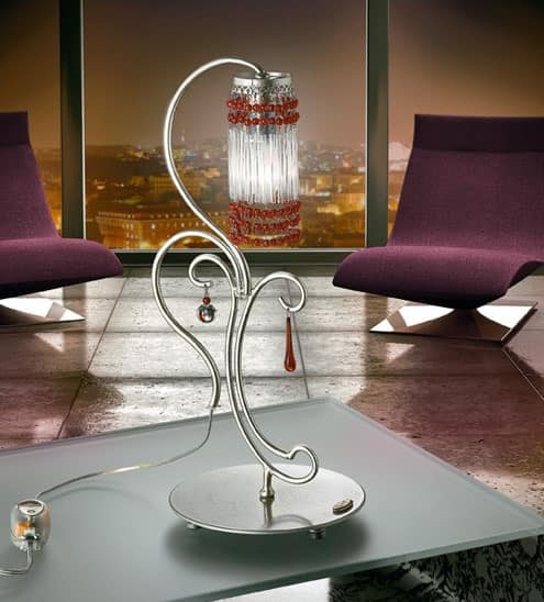 Picture of Casanova table lamp, lamp-shade