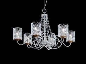 Picture of Class chandelier, floor lamps