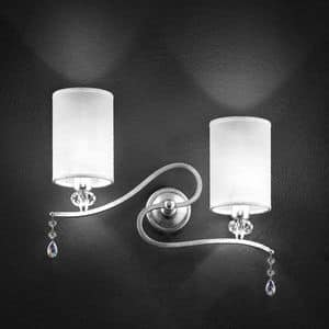 Picture of Delhia applique, elegant lamp
