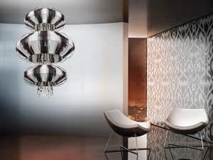 Picture of Full Moon chandelier, pendant lamp