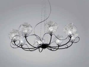 Picture of Gomitoli chandelier, floor lamps