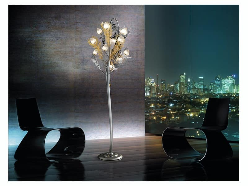 Refined floor lamp for offices and living rooms IDFdesign