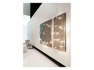 Picture of P102X210 Polipo Retto, wall lamps