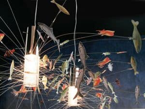 Picture of P151PX215 Fantasy Fish, suspended lamp