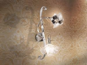 Picture of Rose applique, wall lamp