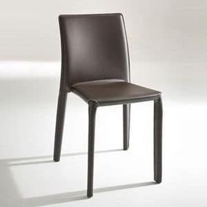 Picture of 2074, leather dining chairs