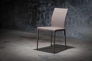 Picture of ART. 252/1 SOFT MISS, leather upholstered chair