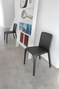 Picture of ART. 300 CLEO, leather upholstered chair